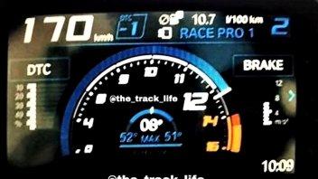 News Prodotto: BMW S1000 RR my19: la novità parte dalla dashboard