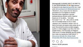 News: Filippo Magnini investito mentre era in moto