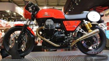 """EICMA: Moto Guzzi torna a correre: arriva il """"Fast Endurance"""""""