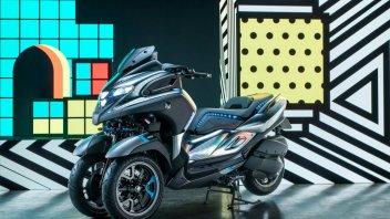 EICMA: Yamaha concept 3CT: il futuro è a tre ruote!