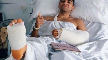 Moto2: Martin operato al piede destro fratturato nei test a Jerez