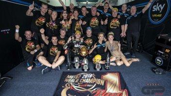 Moto2: Bagnaia e Rossi, quando l'unione fa la forza
