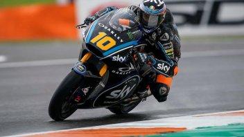 Moto2: Marini firma l'ultima pole stagionale, 4° Bagnaia