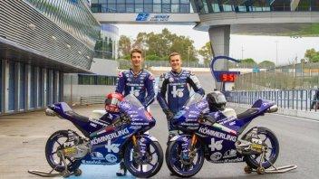 Moto3: Rodrigo e Rossi, primo contatto a Jerez con la Honda