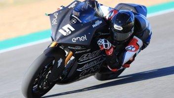 MotoE: L'era elettrica parte nel segno di Tuuli, miglior tempo a Jerez