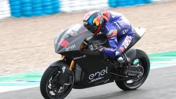 MotoE: Test Jerez: Smith anticipa la pioggia, 1° al sabato, 4° Casadei