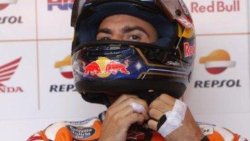 """MotoGP: Pedrosa: """"Mi è mancata la fiducia e non ho le sensazioni dei test"""""""