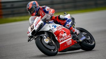 MotoGP: FP2: Rain Man Petrucci, 1st ahead of Márquez and Rossi