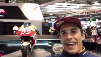 MotoGP: Marquez at Eicma: Honda, do you give me the Doohan replica?
