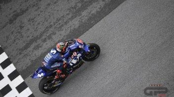 MotoGP: Sepang: l'asfalto non asciuga. Vinales 1° nel Warm Up