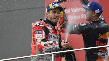 """MotoGP: Dovizioso: """"Ho imparato a ridare gli schiaffi dopo averli presi"""""""