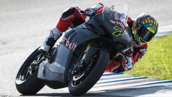 SBK: Jerez: sfida incandescente Davies-Bautista separati da 11 millesimi