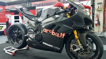 SBK: Aragon: introducing Davies' Ducati V4-R