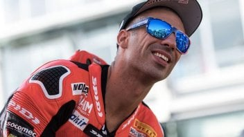 SBK: Marco Melandri, here's the Yamaha you're not expecting!