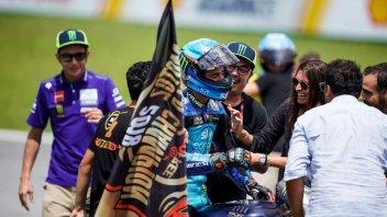 Moto2: Chivasso festeggia il titolo di Francesco Bagnaia