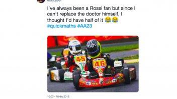 MotoGP: Albon in F1: Valentino non posso sostituirti, meglio essere la tua metà