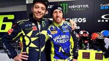 """MotoGP: Rossi a Cairoli: """"Il decimo titolo è una bega come per me"""""""