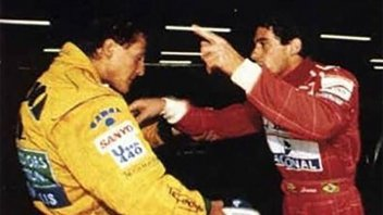 Other times, other conflicts: Senna vs. Schumacher
