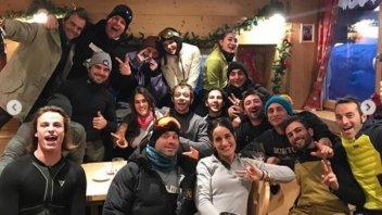 MotoGP: Rossi in love a Campiglio, ma le vacanze sono finite