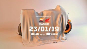 MotoGP: La presentazione del team Repsol Honda in live streaming