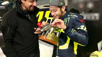 """MotoGP: Rossi e il matrimonio: """"Con Francesca non ci abbiamo pensato"""""""