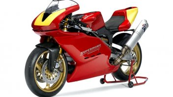 News Prodotto: Una Ducati Supermono all'asta: base da 85.000 Euro