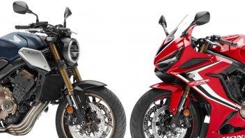 News Prodotto: Honda: come sono le nuove CB 650R e CBR 650R 2019