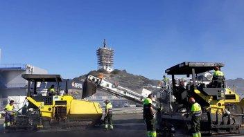 News: Jerez: nuovo asfalto entro la fine della settimana
