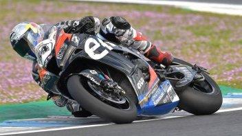 SBK: La Kawasaki spaventa la Ducati V4 a Portimao: 1° Razgatlioglu