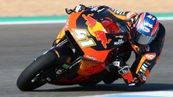 Moto2: Binder lascia Jerez con il miglior crono, quarto Marini