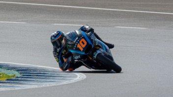 Moto2: Solo Lowes fa meglio di Marini nei test di Jerez