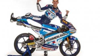 """Moto3: Rossi: """"Sono da Gresini... Grazie a Cecchinello!"""""""