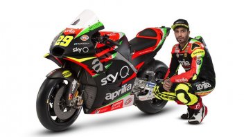 MotoGP: Aprilia unveils the RS-GP 2019 for Iannone and A.Espargarò