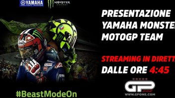 MotoGP: LIVE: presentazione Yamaha Monster Team MotoGP 2019
