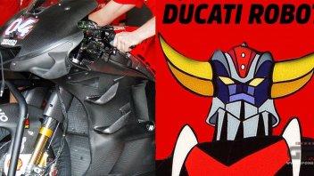 MotoGP: Ducati Desmosedici: at Sepang it's a UFO ROBOT!