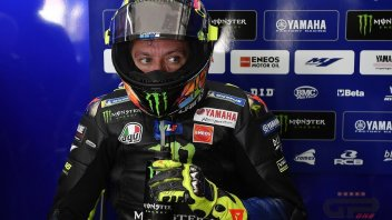 "MotoGP: Rossi jokes: ""I didn't set a fast time due to a '96 tyre"""
