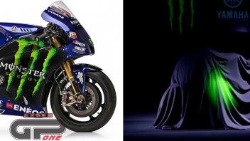 MotoGP: Un teaser rivela un particolare della M1 di Rossi griffata Monster