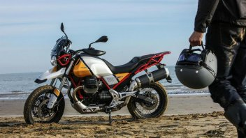 News Prodotto: Moto Guzzi V85 TT: svelato il prezzo della Classic Enduro