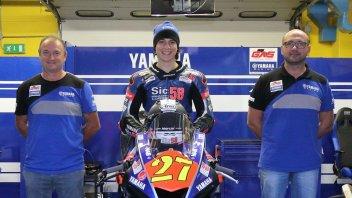 News: Mattia Casadei raddoppia: MotoE e CIV Supersport nel 2019