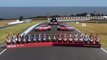 SBK: Phillip Island: la foto del primo giorno di scuola Superbike