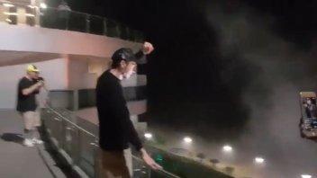 MotoGP: Valentino Rossi acclamato dai fan a Rio Hondo