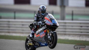Moto2: FP1: Schrötter alla carica a Losail, 1° tempo con la Kalex