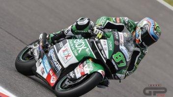 Moto2: FP3: Remy Gardner svetta, paura per Fernandez