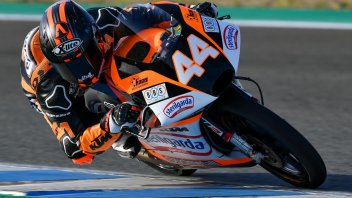 Moto3: FP2: Canet da record, Fenati insegue