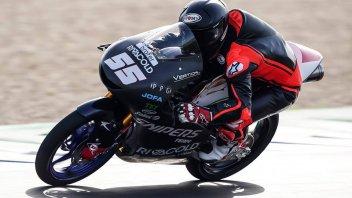 """Moto3: Test Qatar: Fenati va """"controvento"""" e si prende la vetta, 2° Arbolino"""