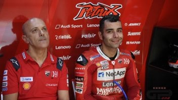 "MotoGP: Petrucci: ""If Marquez is that fast in Qatar, then we'll have to worry."""