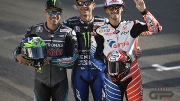 """MotoGP: Rossi: """"Con Bagnaia e Morbidelli l'amicizia in pista verrà messa da parte"""""""