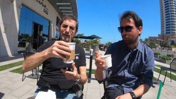 MotoGP: Un caffè al Bar Sport, prima del warm up del GP del Qatar