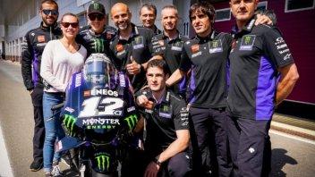 """MotoGP: Vinales: """"Rossi? Normale che uno segua la propria strada"""""""
