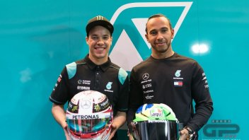 "MotoGP: Morbidelli: ""Hamilton surprised me with really cool questions"""